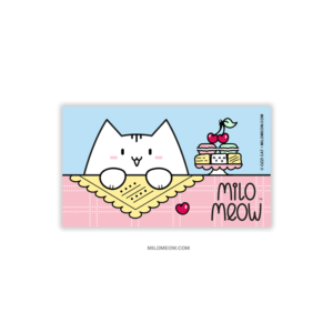 MILO-MAGNETS-SET-001-Sweet-Yummy-Time-01_preview01_Milo-Meow-Cat-cherry-berry-macarons-cakes-sweets-food_Cat-Magnet-Kitten-Refrigerator-Kawaii-Cute-Gift-for-Cat-Lover