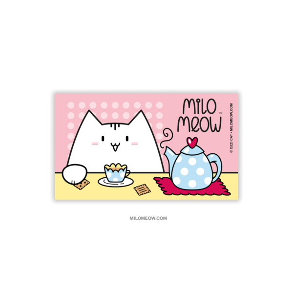 MILO-MAGNETS-SET-001-Sweet-Yummy-Time-04_preview01_Milo-Meow-Cat-tea-pot-cookies-mug-cozy_Cat-Magnet-Kitten-Refrigerator-Kawaii-Cute-Gift-for-Cat-Lover
