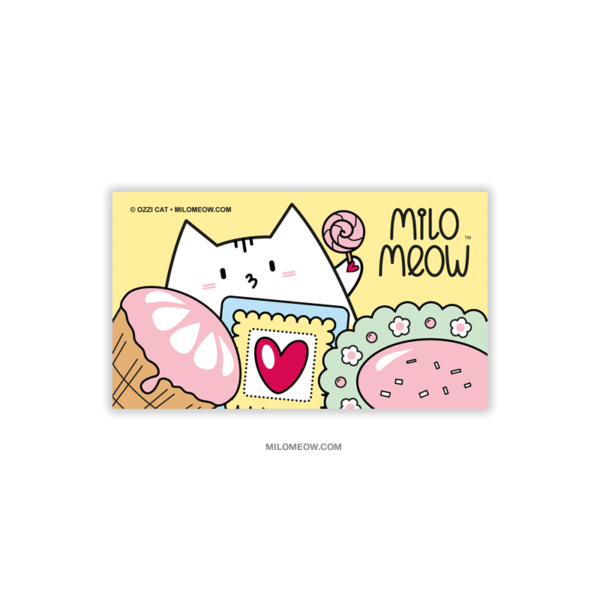 MILO-MAGNETS-SET-001-Sweet-Yummy-Time-05_preview01_Milo-Meow-Cat-sweets-icecream-cookie-food_Cat-Magnet-Kitten-Refrigerator-Kawaii-Cute-Gift-for-Cat-Lover
