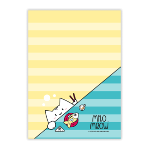 MILO-TODO-LIST-SET-001-Sweet-Yummy-Time-02_preview01_Milo-Meow-Cat-sushi-fish-japanese-food_Kitten-Notepad–ToDo-List–Day-Planner–Memo-Pad–Shopping–Cat-Stationery-Gift