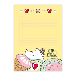 MILO-TODO-LIST-SET-001-Sweet-Yummy-Time-05_preview01_Milo-Meow-Cat-sweets-icecream-cookie-food_Kitten-Notepad–ToDo-List–Day-Planner–Memo-Pad–Shopping–Cat-Stationery-Gift